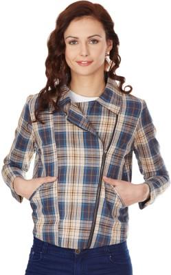 American Swan Full Sleeve Self Design Women's Jacket