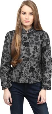 Rare Full Sleeve Floral Print Women's Jacket