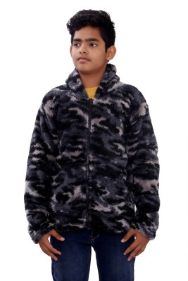 SML Full Sleeve Solid Boy's Jacket