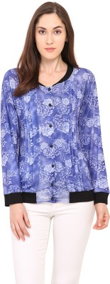 Instacrush Full Sleeve Floral Print Women's Jacket at flipkart