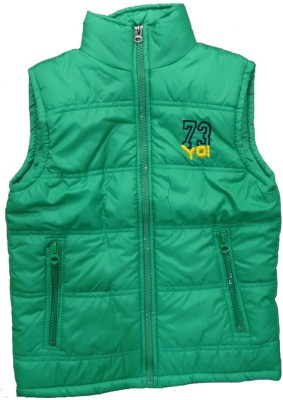 Alfa Sleeveless Solid Boy's Quilted Jacket