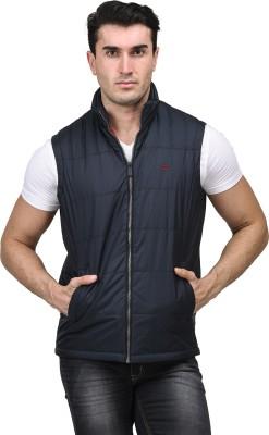 METTLE Sleeveless Solid Men's Jacket