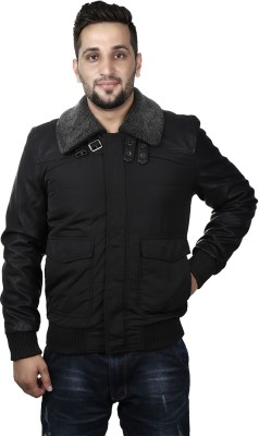 Silver Stone Full Sleeve Solid Men's Jacket