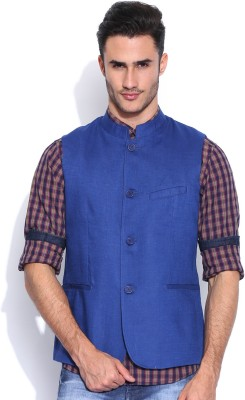 Pepe Jeans Sleeveless Solid Men's Jacket