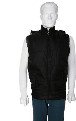 SelfieSeven Sleeveless Solid Men's Jacket