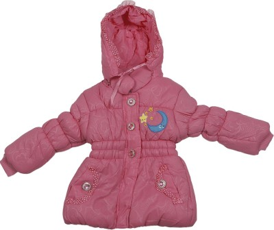 Addyvero Full Sleeve Self Design Girl's Jacket