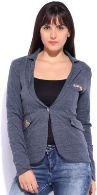 Jn Joy Full Sleeve Solid Women's Jacket