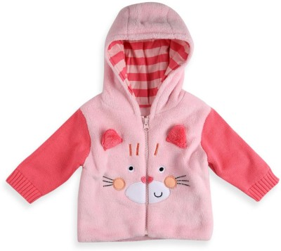 Mothercare Full Sleeve Solid Baby Girl's Jacket