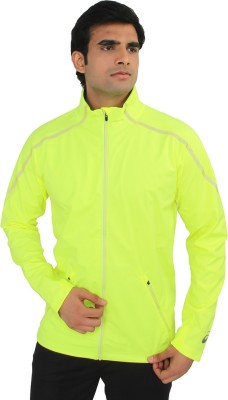 Asics Full Sleeve Solid Men's Jacket