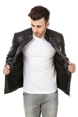 ShemRock Full Sleeve Solid Men's Jacket