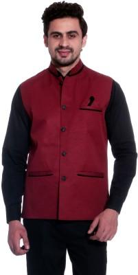 Calibro Sleeveless Solid Men,s Jacket