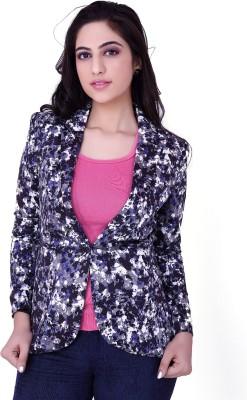 Tong Full Sleeve Printed Women's Jacket