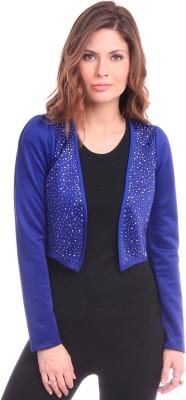 Sassafras Full Sleeve Solid Women's Jacket at flipkart