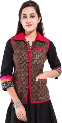 Albelishop Sleeveless Printed Women,s Jacket