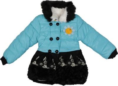 Ishika Garments Full Sleeve Solid Girl's Jacket