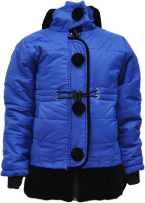 Come In Kids Full Sleeve Solid Girl's Jacket