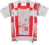 Tonyboy Half Sleeve Printed Boys Jacket