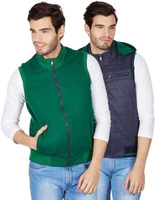 Monte Carlo Half Sleeve Solid Men's Jacket