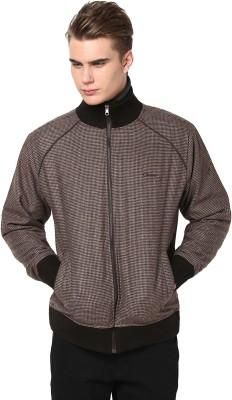 Orewa Full Sleeve Self Design Men's Self Design Jacket Jacket