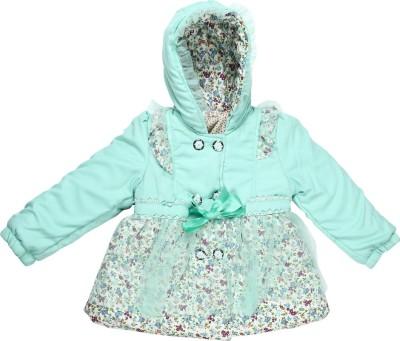 Baby Moshai Full Sleeve Floral Print Girl's Jacket