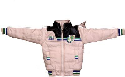 Enclothe Full Sleeve Self Design, Solid Boy's Jacket