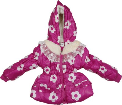 Addyvero Full Sleeve Printed Girl's Jacket