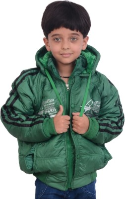 KABEER Full Sleeve Striped Boys Jacket