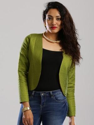 Anouk Full Sleeve Self Design Women's Jacket