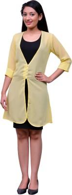 Change360° 3/4 Sleeve Solid Women's Synthetic Jacket