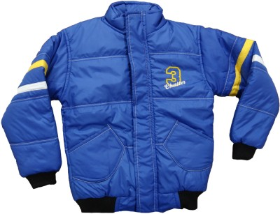 Alfa Full Sleeve Striped Boy's Quilted Jacket