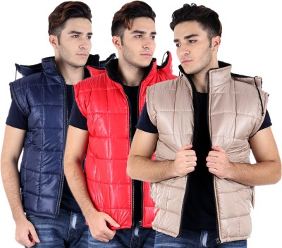 Hardys Sleeveless Solid Mens Jacket
