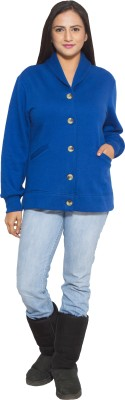 Finesse Full Sleeve Solid Women's Jacket