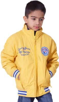 Bugs Junior Full Sleeve Solid Boy's Quilted Jacket