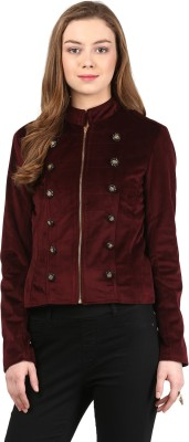 Harpa Full Sleeve Solid Women's Jacket