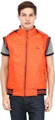 Okane Half Sleeve Printed Men,s Jacket