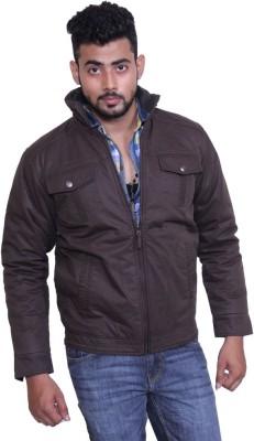 Austrich Full Sleeve Solid Men's Cotton Jacket