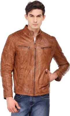 Teakwood Full Sleeve Solid Men's Jacket