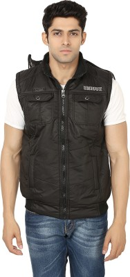 Ico Blue Star Sleeveless Solid Men's NA Jacket