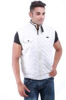 Oceanic Sleeveless Self Design Mens Jacket