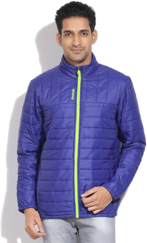 Reebok Full Sleeve Solid Men's Quilted Jacket