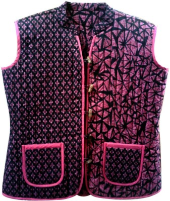 Tarun Industries Sleeveless Printed Women's Jacket