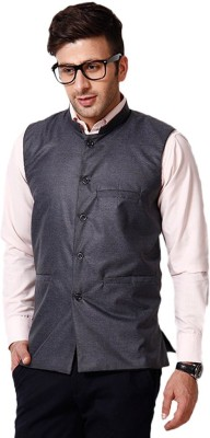 Ree Sleeveless Solid Men's Jacket