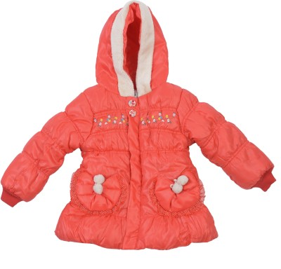 Addyvero Full Sleeve Solid Baby Girl's Jacket