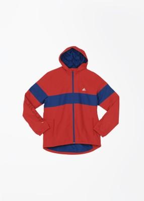 Adidas Full Sleeve Striped Boy's Jacket