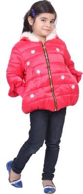 Sakhi Sang Full Sleeve Solid Girl's Jacket