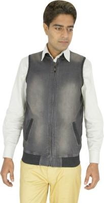 Integration Half Sleeve Solid Men,s Jacket