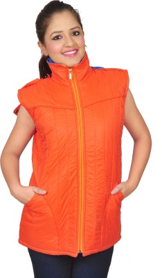 Nifty Sleeveless Solid Women's Quilted Jacket