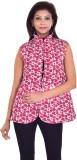 Apratim Sleeveless Floral Print Women's ...