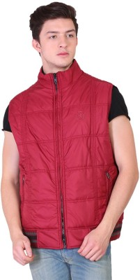 Replay Square Sleeveless Solid Men's Jacket