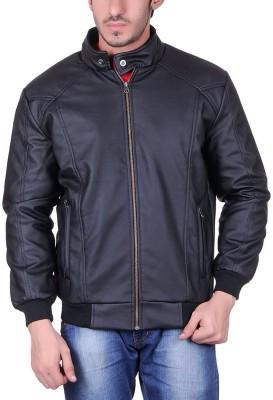 LATHERO Full Sleeve Self Design Men's Jacket